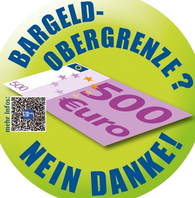 Bargeld Obergrenze data
