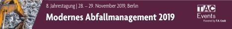 09 13 Banner Abfallmanagement 2019 TIAIC Events 468x60 statisch