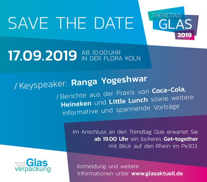 06 07 Save the Date Trendtag Glas 2019